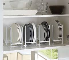 kitchen cabinet plate storage 40 clever storage ideas for a small kitchen cupboard organizers