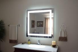 lighted bathroom wall mirror large lighted bathroom wall mirror pixball com