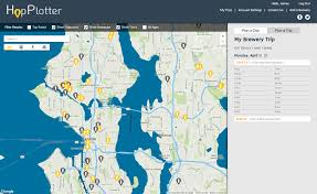 Seattle Brewery Map by App Of The Week Hopplotter Helps You Plan Pub Crawls And Cross