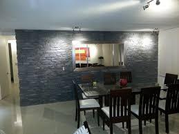 steinwand wohnzimmer montage haus renovierung mit modernem innenarchitektur ehrfürchtiges