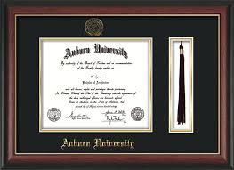 auburn diploma frame auburn diploma frame w gl seal tassel black