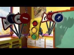 greenlight traffic police cartoon for kids educational videos