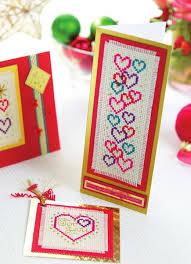 sentiment cross stitch cards free card downloads card