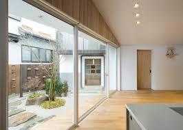 hiroki tominaga atelier u0027s retirement home features large dormer window