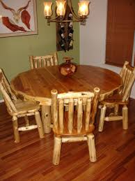 Log Dining Room Table Log Dining Room Furniture Log Furniture Gallery By Vienna Woodworks