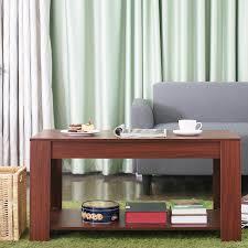 H Enverstellbarer Tisch Homfa Couchtisch Wohnzimmertisch Beistelltisch Tisch Mit