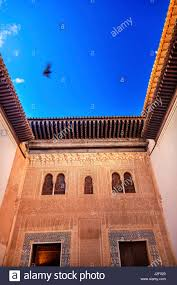 Moorish Design Alhambra Mexuar Courtyard Moorish Design Granada Andalusia