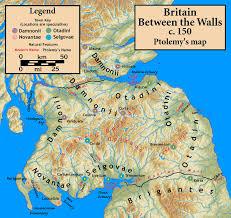 Map Of Glasgow Scotland Damnonii Wikipedia