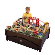 kidkraft train table compatible with thomas kidkraft metropolis train set table with 100 accessories included