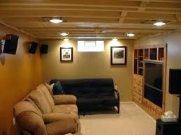 Finished Basement Decorating Ideas by Unfinished Basement Floor Ideas