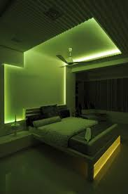 boy room design india master bedroom with green neon light design by architect sonali
