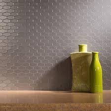 Aspect Peel And Stick Backsplash by Peel And Stick Matted Metal Backsplash Tiles Aspect