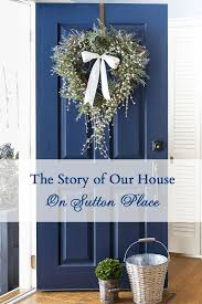 Navy Blue Front Door 395 Best Entry Or Shoe Garden Images On Pinterest Porch Ideas