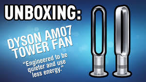 dyson fan am07 sale unboxing and testing the dyson tower fan youtube