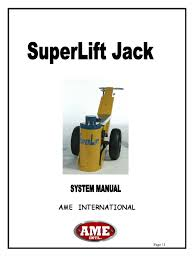 slj 100 38 manual ame super lift pump valve