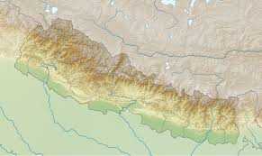 Himilayas Map April 2015 Nepal Earthquake Wikipedia