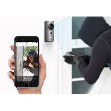 Ring Wi Fi Enabled Video Doorbell by Zmodo 720p Hd Wireless Smart Doorbell Camera Walmart Com