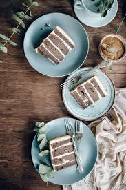 chocolate whiskey cake with salted caramel buttercream via