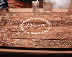 wedding signing board signature board etsy