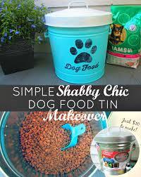 one savvy mom nyc area mom blog diy shabby chic dog food tin