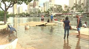 king tides roll in with high surf advisory in effect for south