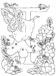 letter alphabet fairy meet frog prince coloring pages batch