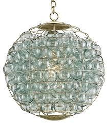 Gold Glass Chandelier Innovative Glass Orb Chandelier Clear Glass Orb Chandelier
