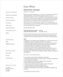 sample manager resume manager resume example business management