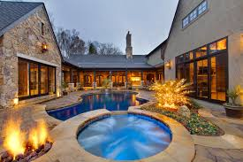 u shaped houses u shaped houses with courtyard an ideabook by kris savell