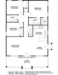 small house floorplans 1950 s three bedroom ranch floor plans small ranch house plan