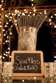 rustic wedding ideas sparklers grand exit for rustic wedding ideas oh best day