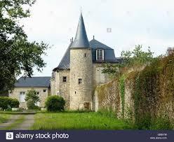 old castle in brittany france near the city of bono in kerispert