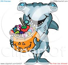 royalty free rf clipart illustration of a trick or treating
