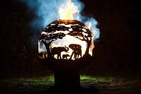 Fire Pit Globe by The Firepit Company The Firepit Company Creates Beautiful Hand