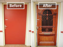 Nursing Home Design Guide Uk Company Recreates Doors Of Dementia Patients U0027 Houses To Help Them