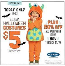 Halloween Costume Sale Baby Halloween Costume Sale 5 Navy Today