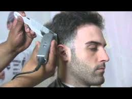 difference between tapered and straight haircut how to cut a taper on straight hair youtube