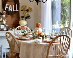 how to create a simple thanksgiving table cheaply an