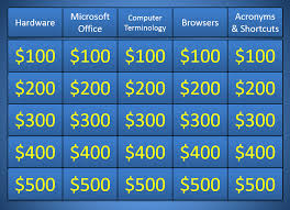 Jeopardy Template Microsoft Powerpoint Jeopardy Template Ppt 28 Sle Ppt Templates