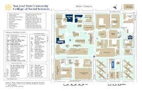 san jose state map sjsu college of social sciences map
