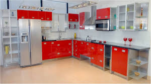 home kitchen furniture stainless steel kitchen cabinets