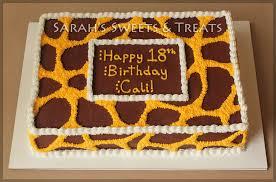 giraffe cake giraffe cake s treats
