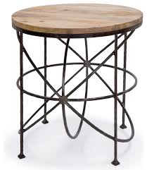round industrial side table charming industrial side table with forester side table industrial