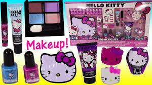 hello kitty cosmetic set nail polish lip gloss nail clipper body