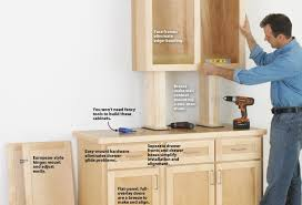 free woodworking plans kitchen cabinets quick make cabinets the easy way wood magazine