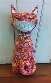 weighted door stop cat doorstop sewing pattern u2026 pinteres u2026