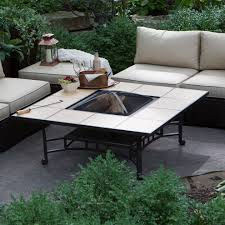 popular wood burning fire pit table boundless table ideas