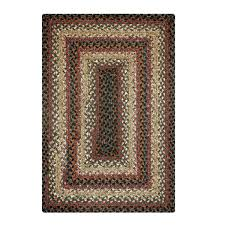 braided rug buy enigma black grey cotton braided rugs homespice