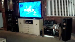 setting up home theater 2015 my home theater with tv set up youtube