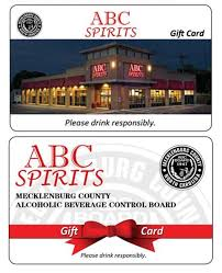 store gift cards mecklenburg abc board nc gift cards